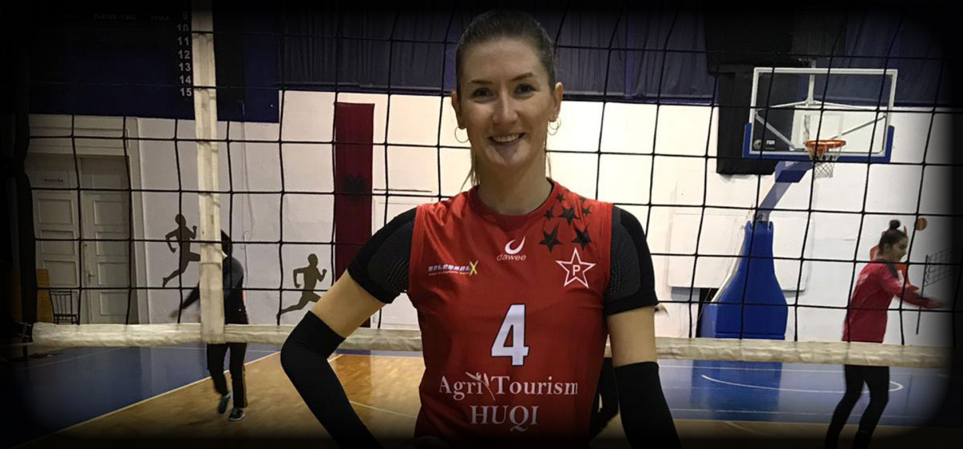 1st TURKISH PLAYER AT ALBANIAN VOLLEYBALL